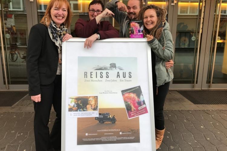Gewinnerfilm 2019 REISS AUS - ZWEI JAHRE. ZWEI MENSCHEN. EIN TRAUM - Regisseurin Lena Wendt und Mitregisseur Ulrich Stirnat!